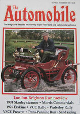 The Automobile magazine Vol.7, No.9 11/1989 featuring Stanley, Morris, Erskine