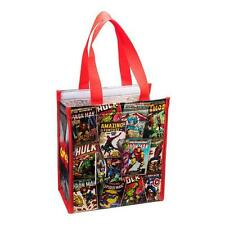 Marvel HEROES Official RETRO Insulated TOTE Shopping ECO BAG Reusable LUNCH Gift