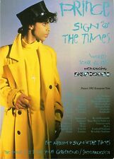 Prince * sign o 'the times Media Info, Flyer + Brownmark-Motown BIO + much more!