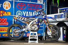 Yamaha Graphics Kit Decals YZ125 YZ 125 YZ250 YZ 250 ALL YEARS Justin Barcia JGR