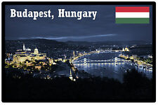 BUDAPEST, HUNGARY - SOUVENIR NOVELTY FRIDGE MAGNET -  BRAND NEW - GIFT