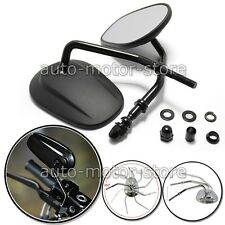BLACK MATTE MOTORCYCLE REAR MIRRORS FOR HARLEY DAVIDSON XL 883 SPORTSTER 1200