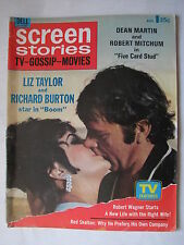 Screen Stories*Liz Taylor & Richard Burton*Dean Martin*Katherine Hepburn*Aug '68