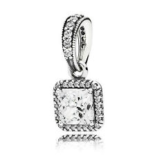 NEW Authentic Pandora 925 Silver Timeless Elegance Charm Pendant #390378CZ
