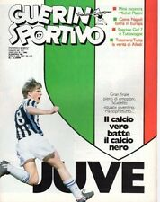 GUERIN SPORTIVO=N°17 1986=JUVE=LAUDRUP COVER