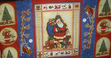2/3 YDS Michel Miller Merry Christmas Panel QUILT, SEW, FABRIC