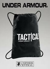 New Under Armour UA Black / White Tactical Sackpack / Backpack - 1249170