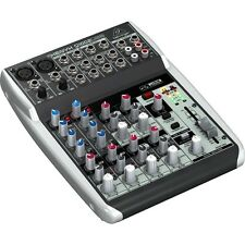 Behringer Xenyx Q1002USB 10-Input 2-Bus Mixer USB Audio Interface w/ Mic Preamps