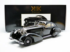 KK SCALE MODELS 1938 Mercedes Benz 540 Autobahnkurier Black LE of 3000 1/18 New!