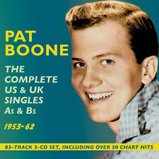 Pat Boone - Complete Us & UK Singles As & BS 1953-62 [New CD]