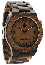 WOODWATCH Wootch Green Herren-Holzuhr