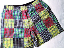 NWOT- RRP $199- Mens Polo Sport by Ralph Lauren Patchwork Surf Swim Board Shorts