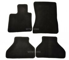 FIT FOR 2006-2012 BMW E70 X5 BLACK NYLON CARPET FLOOR MATS