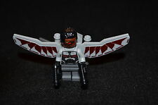 FALCON w/ Wings and Accessories ~ Minifigure - Lego Marvel Super Heroes ~ MINT