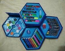 46 Piece Art Set ,PCS Color SET, Color Pencil, Crayons, Oil Pastel, Sketch Pens