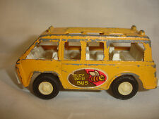 Old Vtg 1970 Tootsietoy Buzy Bee Diecast Toy Bus Made In USA