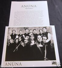 ANUNA 'INVOCATION' 1995 PRESS KIT--PHOTO