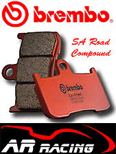 Brembo SA Sintered Road Front Brake Pads Fit Kawasaki GTR1400 2007-2009
