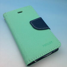 iPhone 4/4S High Quality Luxury Leather Flip Wallet Case with Credit Card Slots