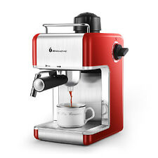 High Quality Semi Automatic Coffee Maker Home Use Coffee Machine Red Color