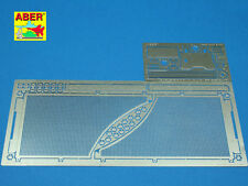 1/16 ABER 16042 ANTI MINE MESH  for GERMAN TIGER II  PORSCHE for TRUMPETER Kits