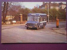 POSTCARD LONDON TRANSPORT STRACHAN MINIBUS JUD 103L