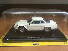 "DIE CAST "" ALPINE RENAULT A110 1600 S (1971) "" 1/24  QUATTRORUOTE COLLECTION"