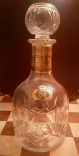Vintage Deluxe Camus Cognac Napoleon bottle decanter 700ml France VERY RARE