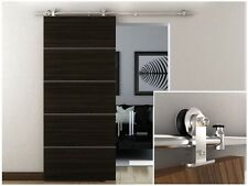 6.6 FT Stainless Steel Interior Modern Sliding Barn Wood Door Hardware Trac