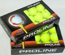 30 Titleist NXT Tour S Yellow Mint AAAAA golf balls