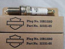 Genuine Harley Davidson Spark Plug #10R12AG '02-UP VRSC PAIR 2 P/N: 32331-05