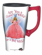Wizard Of Oz Good Witch Travel Mug, Pink , New, Free Shipping
