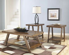 Ashley Furniture Occasional Table Set (3/CN) Bradley Burnished Brown T392-13 NEW