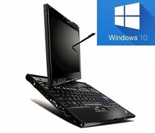 Lenovo ThinkPad x200t - 4gb Tablet PC con pantalla táctil win10 pro-Windows 10