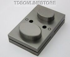 Extra Lrg Disc Cutter 1 5/8 - 2 Inch With Two Punches For Oval Shapes