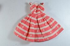 VINTAGE BARBIE BUSY MORNING STRIPED SUNDRESS