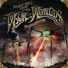Jeff Wayne's Musical Version Of War Of The Worlds The New Generation 2-CD NEW