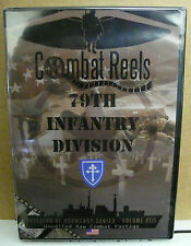 COMBAT REELS DVD 79TH INFANTRY DIVISION INVASION OF NORMANDY COMBAT FOOTAGE NEW
