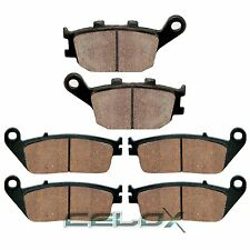 Front Rear Brake Pads For Honda VT1100C3 Shadow 1100 Aero 1998 1999 2000 2001 02