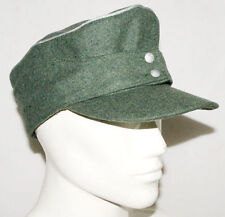 WWII 2 GERMAN WH EM Officer M43 field PANZER WOOL panzer FIELD CAP hat SIZE L