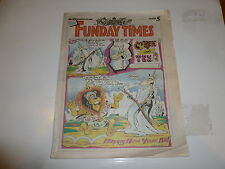THE FUNDAY TIMES - No 121 - Date 29/12/1991 - Free Sunday Time Comic Supplement