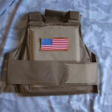New Paintball Armor Vest Tactical Airsoft Paintball Body Armor Vest Tan- US210