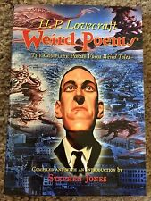 WEIRD POEMS: THE COMPLETE H.P.LOVECRAFT POETRY FROM WEIRD TALES Lovecraft 1st HC