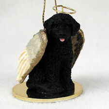 Portuguese Water Dog Dog Figurine Angel Statue Ornament