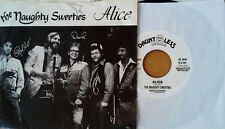 NAUGHTY SWEETIES - ALICE - DAUNTLESS 45 - WHITE LABEL PROMO + PICTURE SLEEVE