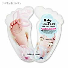 [HOLIKA HOLIKA] Baby Silky Foot One Shot Peeling / Korea Cosmetics UK SELLER