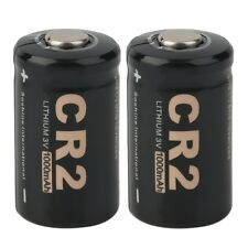 2 Pieces CR2 3.0V 1000mAh Protected Rechargeable Battery + Case for Soshine LO