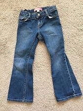 TODDLER GIRL'S BOOT CUT STRETCH JEANS FROM OLD NAVY SIZE 5T