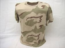 3C desert camouflage cotton polyester short sleeve casual T shirt Mens size L