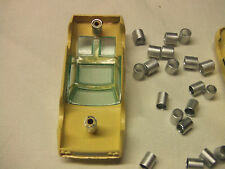 Aurora Model Modering , Johnny Lightning,  slot car screw post savers